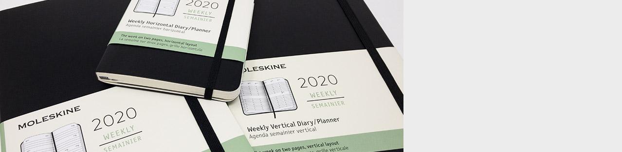 Kalender von Moleskine für 2020