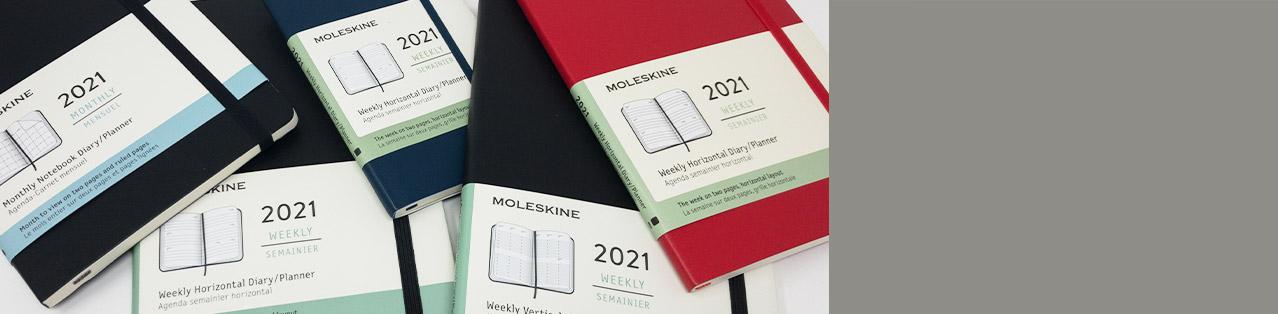 Kalender von Moleskine für 2021