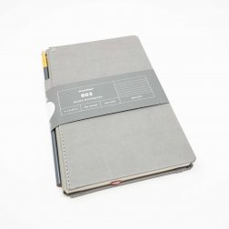 Notizbuch Blackwing 602 Slate Notebook liniert mit Bleistift 602