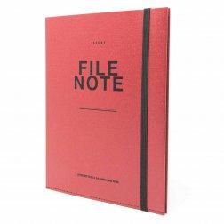 File Note | Notizbuch mit Aufbewahrung von jstory