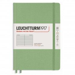 """Leuchtturm1917 Notizbuch """"M"""" salbei liniert"""