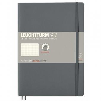 Leuchtturm1917 Notizbuch B5 Softcover anthrazit dotted