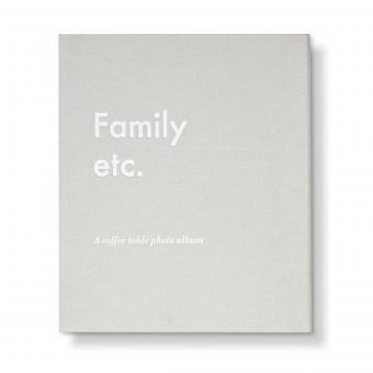 """Fotoalbum """"family etc."""""""