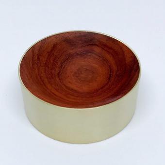 Schreibtischschale Rosenholz
