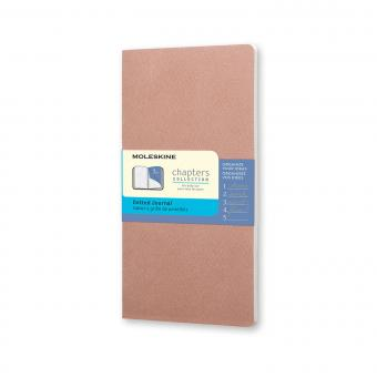 MOLESKINE® Chapters M rose