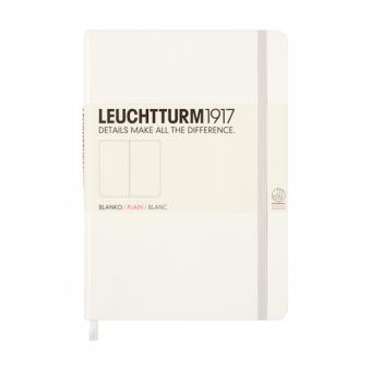 """Leuchtturm1917 Notizbuch """"S"""" weiß blanko"""
