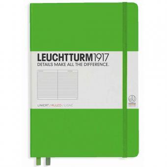 "Leuchtturm1917 Notizbuch ""M"" fresh green liniert"