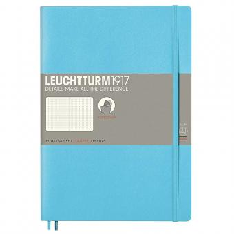 Leuchtturm1917 Notizbuch Softcover ice blue dotted
