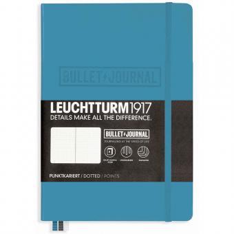 "Leuchtturm1917 Bullet Journal ""M"" nordic blue"