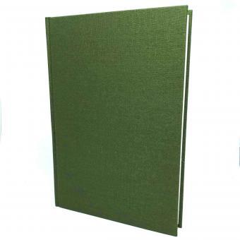 "Semikolon Classic Notizbuch ""M"" Leinen dunkelgrün liniert"