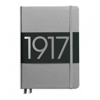 "Leuchtturm1917 Notizbuch ""M"" silber liniert"