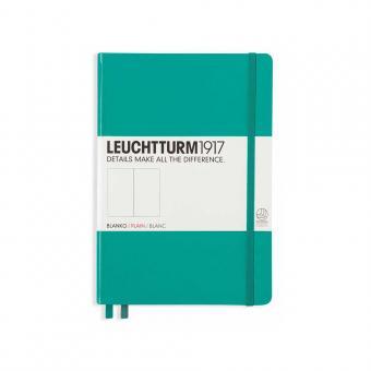 "Leuchtturm1917 Notizbuch ""M"" smaragd blanko"