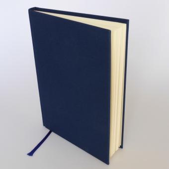 "Semikolon Classic Notizbuch ""M"" Leinen dunkelblau"