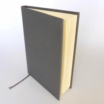 "Semikolon Classic Notizbuch ""M"" Leinen grau"