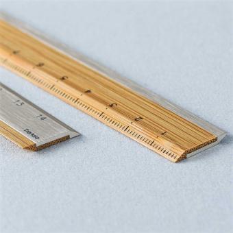 Lineal Bambus Aluminium