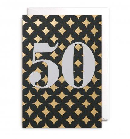 Grußkarte 50. Geburtstag