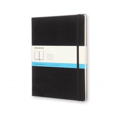 MOLESKINE® Notizbuch XL Hardcover schwarz dotted 1