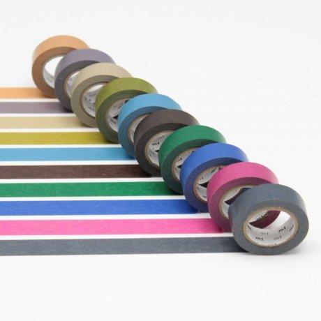 mt Masking Tape: dark color 2 - dunkle Farben 1