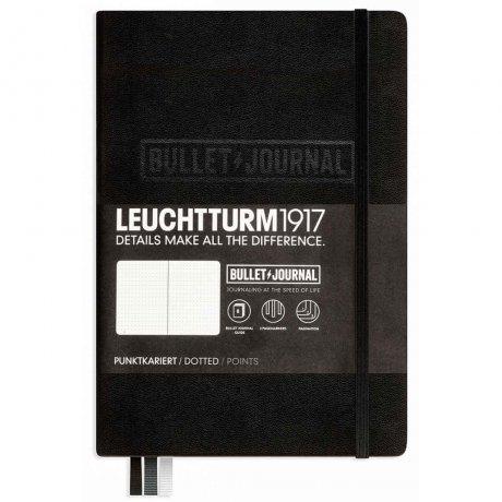 """Leuchtturm1917 Bullet Journal """"M"""" schwarz 1"""
