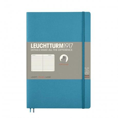 Leuchtturm1917 Paperback Softcover nordic blue liniert 1
