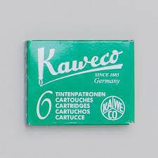 Kaweco Tintenpatronen grün | 6 Stück