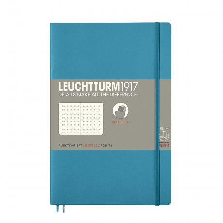 Leuchtturm1917 Paperback Softcover nordic blue dotted 1