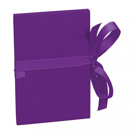 Semikolon Leporello Grande, violett 1