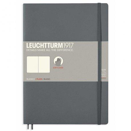 Leuchtturm1917 Notizbuch Softcover anthrazit blanko 1