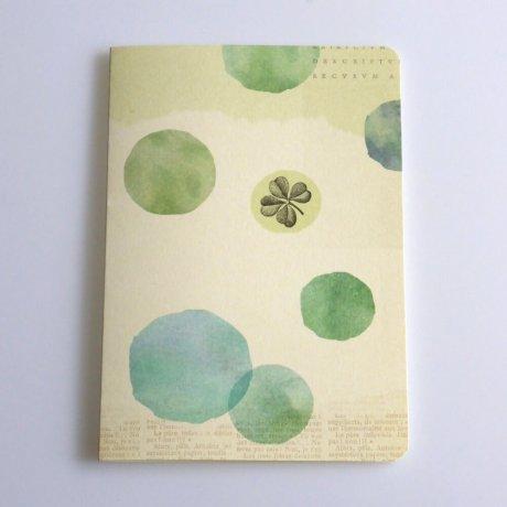 Grußkarte Kleeblatt 1