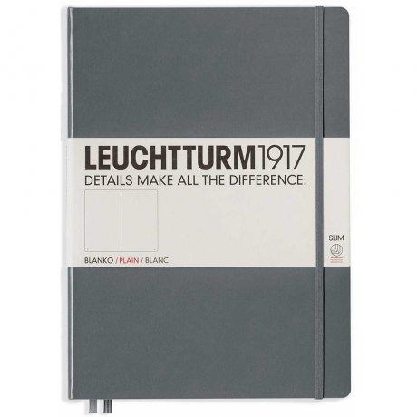 """Leuchtturm1917 Notizbuch """"L"""" slim anthrazit blanko 1"""
