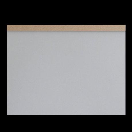 ITO Drawing Pad A3 Zeichenplatte grau 1