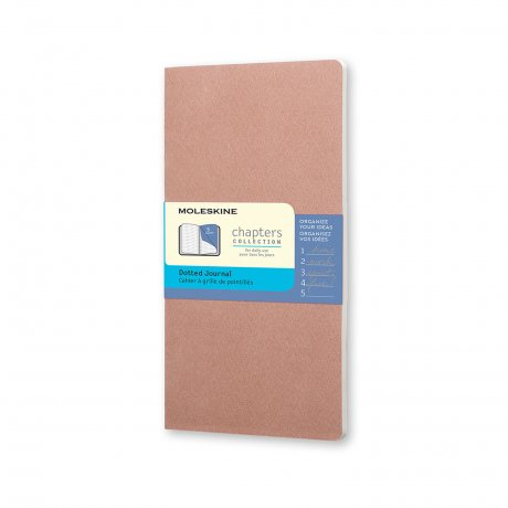 MOLESKINE® Chapters S rose 1