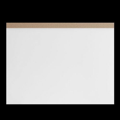 ITO Drawing Pad A3 Zeichenplatte weiss 1
