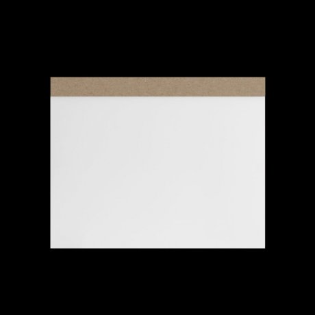 ITO Drawing Pad A5 Zeichenplatte weiss 1