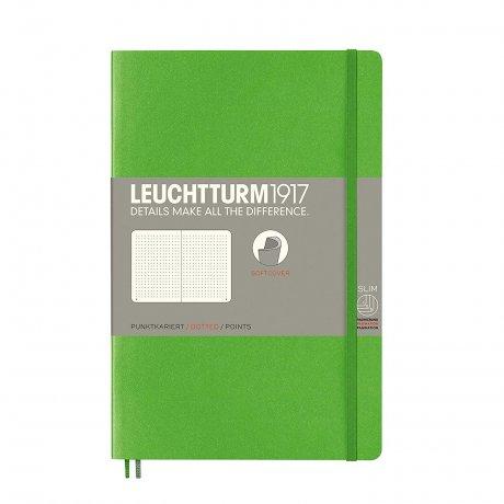 Leuchtturm1917 Paperback Softcover fresh green liniert 1