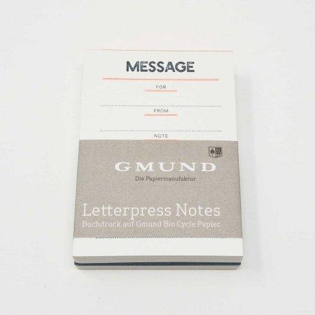 Gmund Letterpress Notes 1