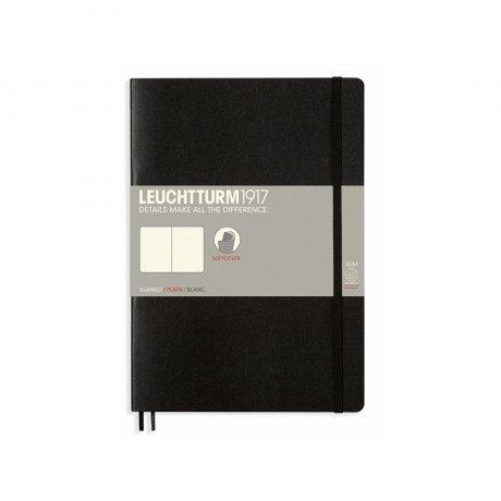 Leuchtturm1917 Paperback Softcover schwarz liniert 1