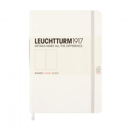 """Leuchtturm1917 Notizbuch """"S"""" weiß blanko 1"""