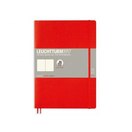 Leuchtturm1917 Notizbuch Softcover rot blanko 1