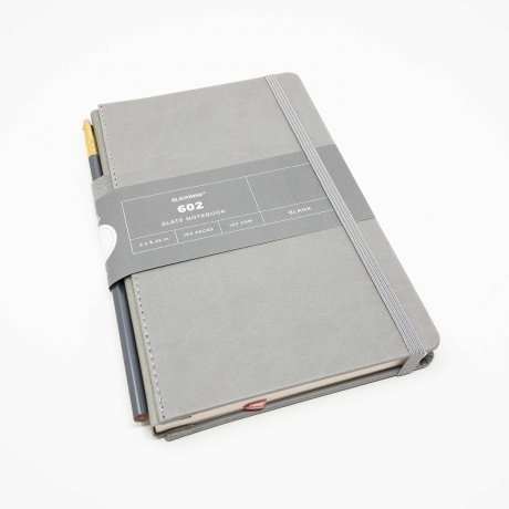 Notizbuch Blackwing 602 Slate Notebook blanko mit Bleistift 602 1