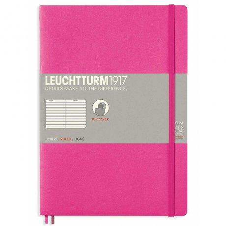 Leuchtturm1917 Notizbuch Softcover pink liniert 1