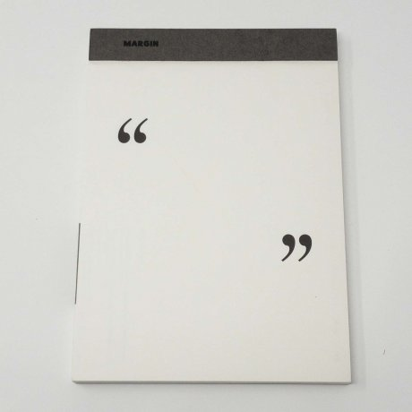 Margin Pad Quotation Mark | Notizblock blanko von jstory 1