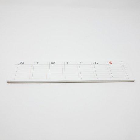 Wochenkalender post it | selbstklebender Kalender von jstory 1