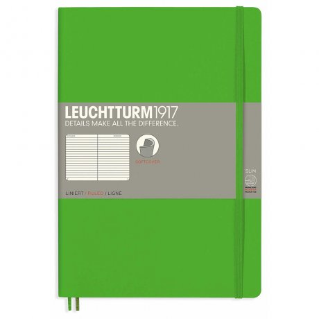 Leuchtturm1917 Notizbuch B5 Softcover fresh green liniert 1