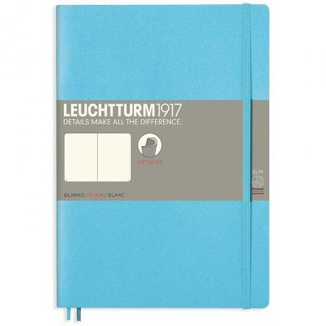 Leuchtturm1917 Notizbuch Softcover ice blue blanko 1