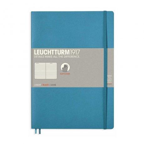 Leuchtturm1917 Notizbuch B5 Softcover nordic blue liniert 1