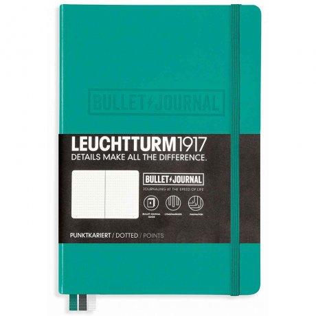 """Leuchtturm1917 Bullet Journal """"M"""" smaragd 1"""