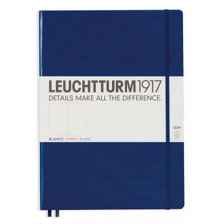 Leuchtturm1917 Notizbuch A4+ slim marine blanko 1
