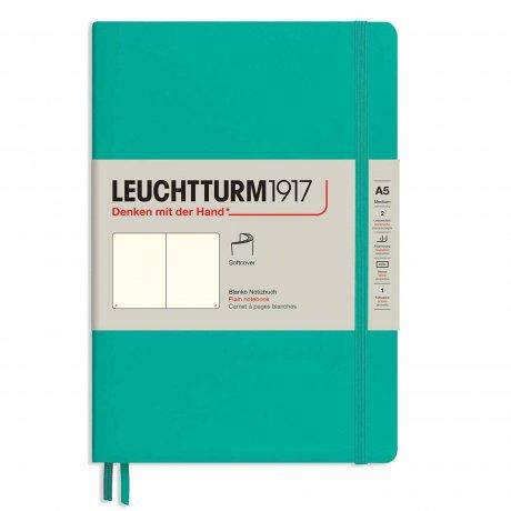 """Leuchtturm1917 Notizbuch Softcover """"M"""" smaragd blanko 1"""