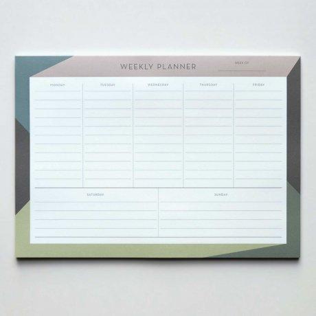 Weekly Planner - Wochenübersicht gemustert von Haferkorn & Sauerbrey 1